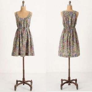 Anthropologie Eloise Floral Imaginings Dress M